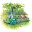 Волжская Здравница - иконка «сад» в Волжском